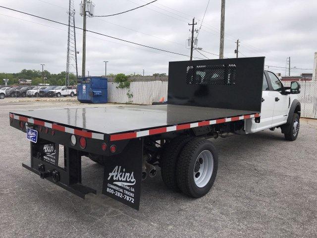 2019 F-450 Crew Cab DRW RWD,  Smyrna Truck Platform Body #KED30144 - photo 2