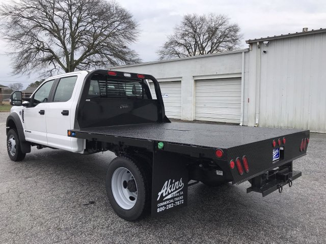 2019 F-450 Crew Cab DRW 4x4,  Cadet Platform Body #KED30156 - photo 4