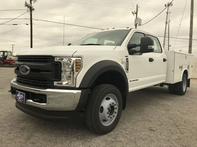 2019 F-450 Crew Cab DRW 4x4,  Reading Service Body #KED30157 - photo 6
