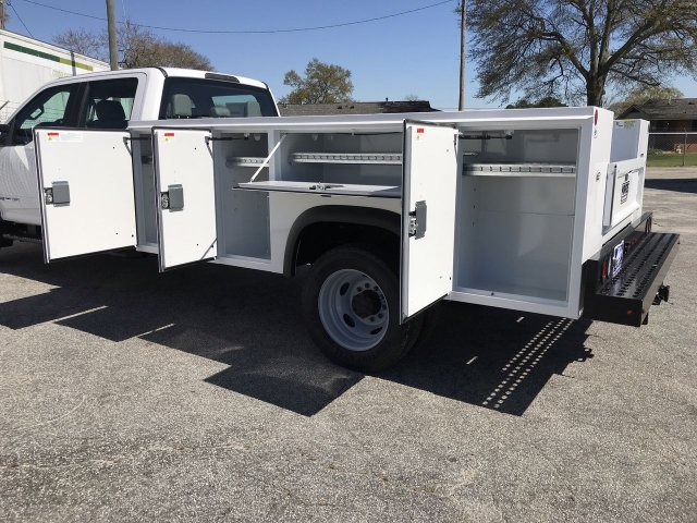 2019 F-450 Crew Cab DRW RWD,  Monroe Service Body #KED72862 - photo 10
