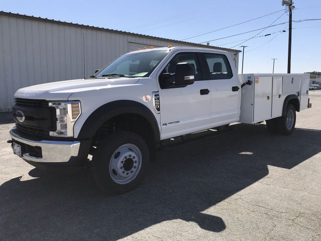 2019 F-450 Crew Cab DRW RWD,  Monroe Service Body #KED72862 - photo 5