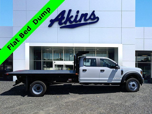 2019 F-550 Crew Cab DRW RWD,  PJ's Platform Body #KED96690 - photo 1