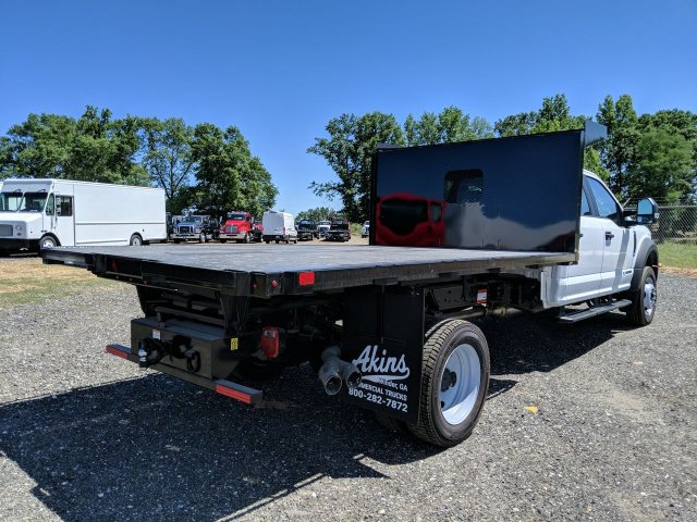 2019 F-550 Crew Cab DRW RWD,  PJ's Platform Body #KED96690 - photo 2