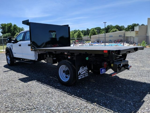 2019 F-550 Crew Cab DRW RWD,  PJ's Platform Body #KED96690 - photo 4