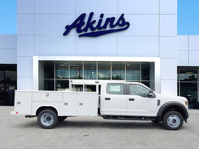 2019 F-550 Crew Cab DRW 4x4,  Reading Service Body #KEE14081 - photo 1