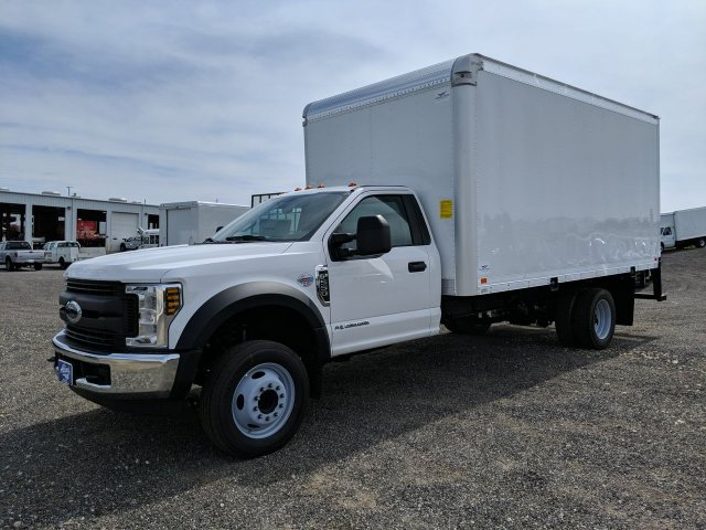 2019 F-550 Regular Cab DRW RWD,  Smyrna Truck Dry Freight #KEE60114 - photo 5