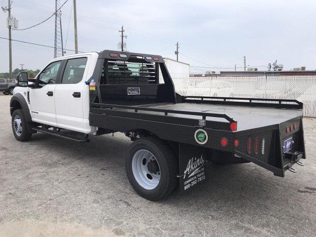 2019 F-450 Crew Cab DRW 4x4,  Hillsboro Platform Body #KEE60704 - photo 4
