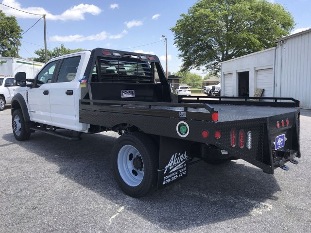 2019 F-450 Crew Cab DRW 4x4,  Hillsboro Platform Body #KEE60706 - photo 4