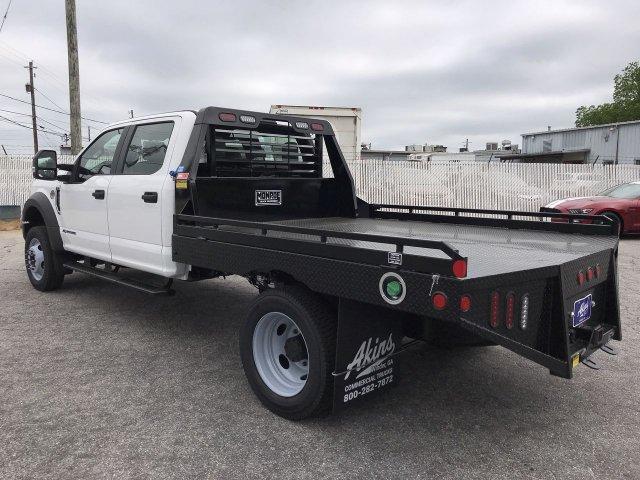2019 F-450 Crew Cab DRW 4x4,  Hillsboro Platform Body #KEE60707 - photo 4