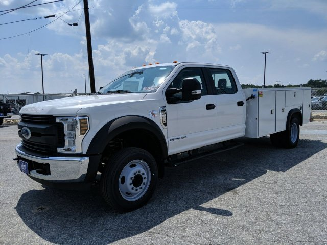 2019 F-550 Crew Cab DRW RWD,  Monroe Service Body #KEE60711 - photo 6