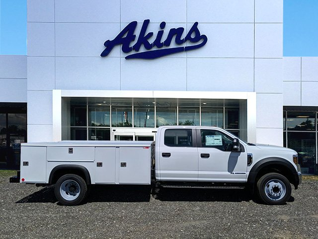 2019 F-550 Crew Cab DRW RWD,  Monroe Service Body #KEE60714 - photo 1