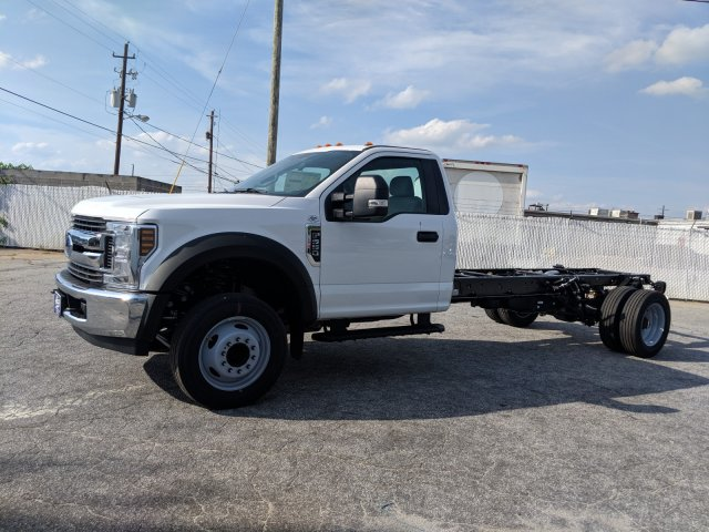 2019 F-550 Regular Cab DRW RWD,  Cab Chassis #KEE75997 - photo 4