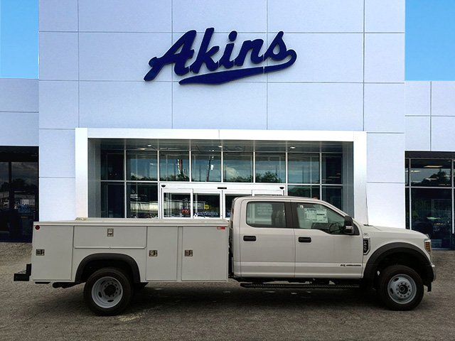 2019 F-450 Crew Cab DRW 4x4, Monroe Service Body #KEF85262 - photo 1