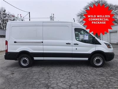 2019 Transit 150 Med Roof RWD,  Weather Guard General Service Upfitted Cargo Van #KKA04252 - photo 1