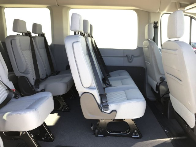 2019 Transit 350 Med Roof 4x2,  Passenger Wagon #KKA10685 - photo 12