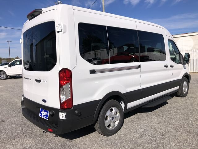 2019 Transit 350 Med Roof RWD,  Passenger Wagon #KKA13969 - photo 2
