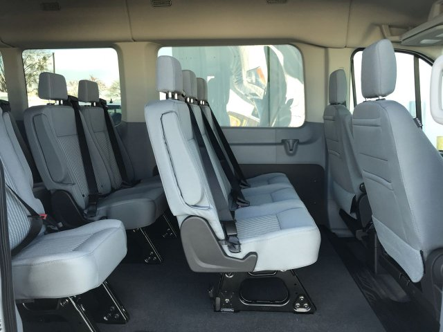 2019 Transit 350 Med Roof 4x2,  Passenger Wagon #KKA25286 - photo 10
