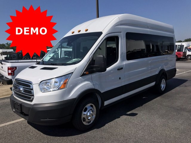 2019 Transit 350 HD High Roof DRW RWD, Passenger Wagon #KKA51898 - photo 1