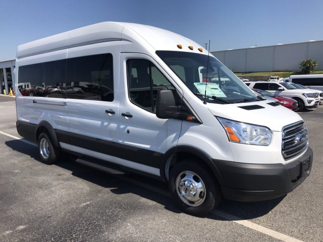 2019 Transit 350 HD High Roof DRW RWD,  Passenger Wagon #KKA51899 - photo 3