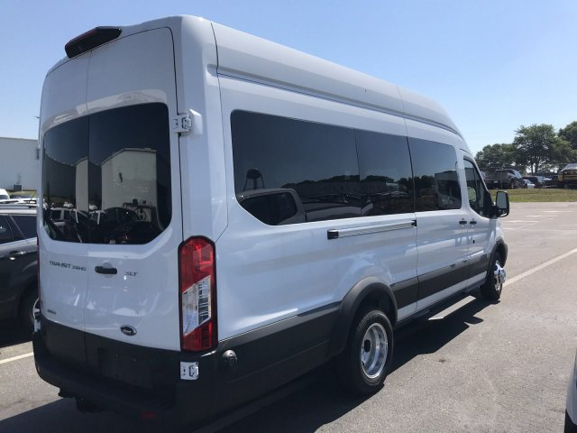 2019 Transit 350 HD High Roof DRW RWD,  Passenger Wagon #KKA69350 - photo 2