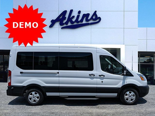 2019 Transit 350 Med Roof RWD, Passenger Wagon #KKB18255 - photo 1