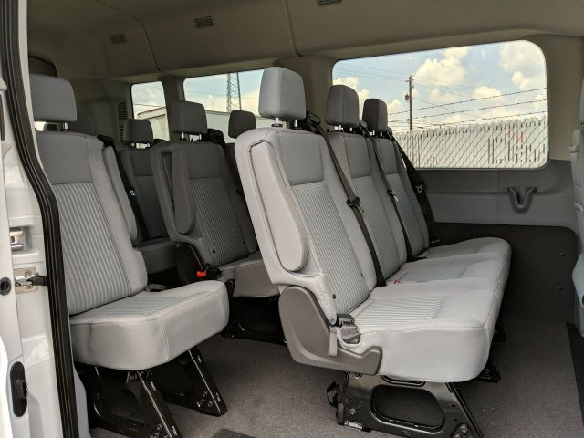 2019 Transit 350 Med Roof RWD,  Passenger Wagon #KKB18261 - photo 17