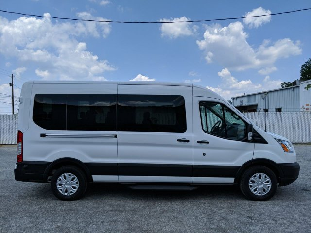 2019 Transit 350 Med Roof RWD,  Passenger Wagon #KKB18261 - photo 4