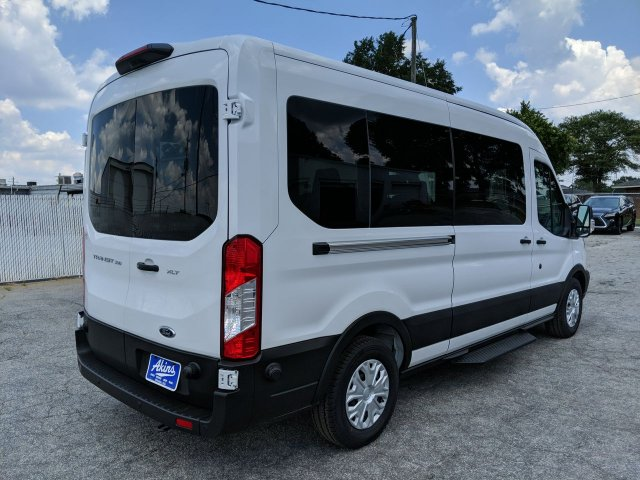 2019 Transit 350 Med Roof RWD,  Passenger Wagon #KKB18261 - photo 2