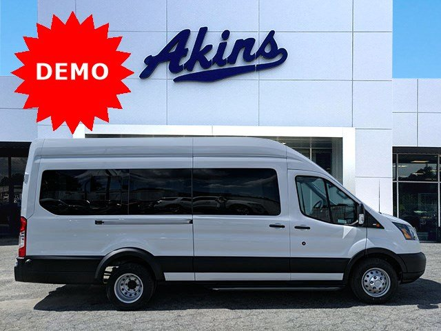 2019 Transit 350 HD High Roof DRW RWD, Passenger Wagon #KKB45377 - photo 1