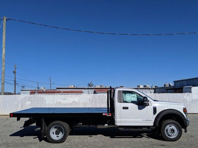 2020 Ford F-550 Regular Cab DRW 4x4, Monroe Work-A-Hauler II Platform Body #LDA09593 - photo 3
