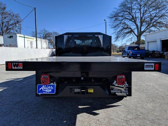 2020 Ford F-550 Regular Cab DRW 4x4, Monroe Work-A-Hauler II Platform Body #LDA09593 - photo 4