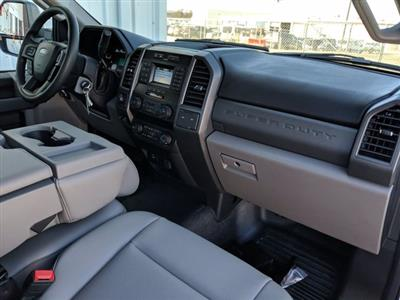 2020 Ford F-550 Regular Cab DRW 4x4, Monroe Work-A-Hauler II Platform Body #LDA09593 - photo 13