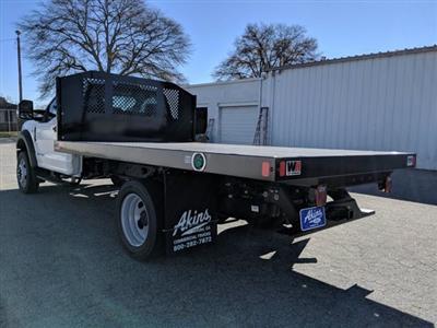 2020 Ford F-550 Regular Cab DRW 4x4, Monroe Work-A-Hauler II Platform Body #LDA09593 - photo 5