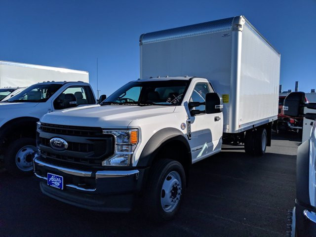 2020 Ford F-550 Regular Cab DRW 4x2, Smyrna Truck Aluminum Dry Freight #LEE11328 - photo 6