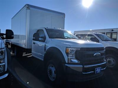 2020 Ford F-550 Regular Cab DRW 4x2, Smyrna Truck Aluminum Dry Freight #LEE11328 - photo 3