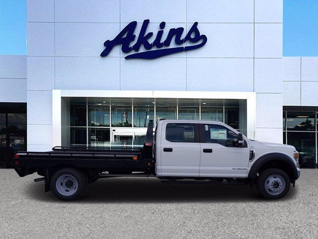 2020 Ford F-550 Crew Cab DRW 4x4, Platform Body #LEE12263 - photo 1