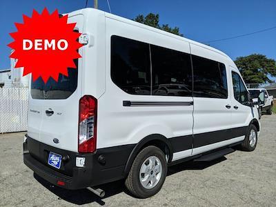 2020 Ford Transit 350 Med Roof 4x2, Passenger Wagon #LKB23798 - photo 2