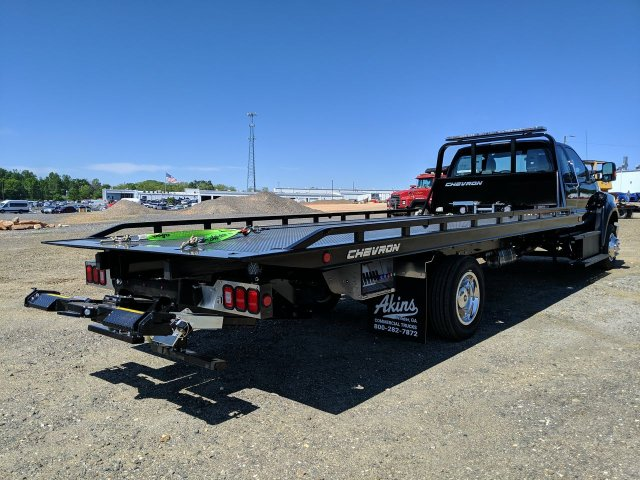 2021 Ford F-650 Super Cab DRW 4x2, Miller Industries Rollback Body #MDF00138 - photo 1