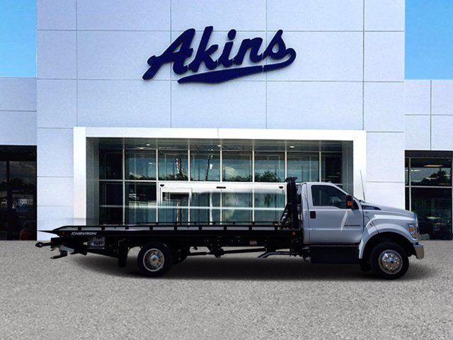 2021 Ford F-650 Regular Cab DRW 4x2, Miller Industries Rollback Body #MDF03136 - photo 1
