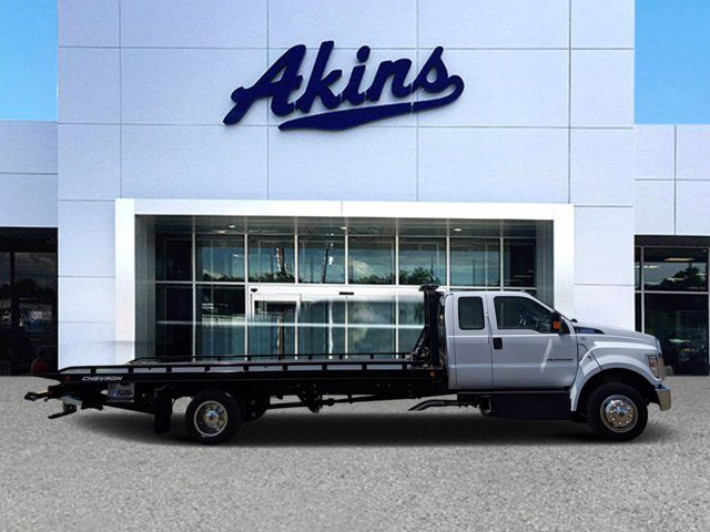 2021 Ford F-650 Super Cab DRW 4x2, Miller Industries Rollback Body #MDF03142 - photo 1