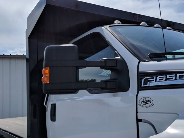 2021 Ford F-650 Regular Cab DRW 4x2, PJ's Platform Body #MDF03972 - photo 10