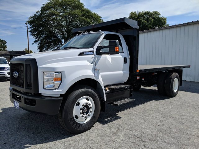 2021 Ford F-650 Regular Cab DRW 4x2, PJ's Platform Body #MDF03972 - photo 6