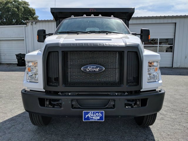 2021 Ford F-650 Regular Cab DRW 4x2, PJ's Platform Body #MDF03972 - photo 7