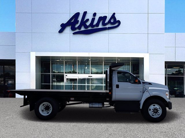 2021 Ford F-650 Regular Cab DRW 4x2, PJ's Platform Body #MDF03973 - photo 1