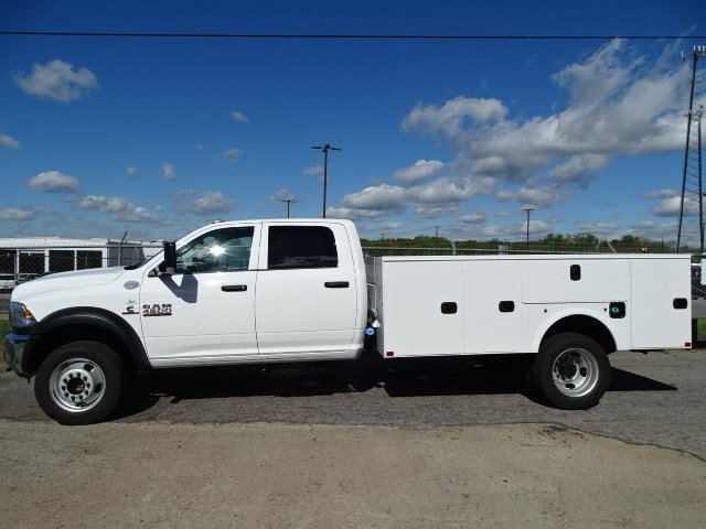 2017 Ram 4500 Crew Cab DRW, Commercial Truck & Van Equipment Service Body #HG541509 - photo 4