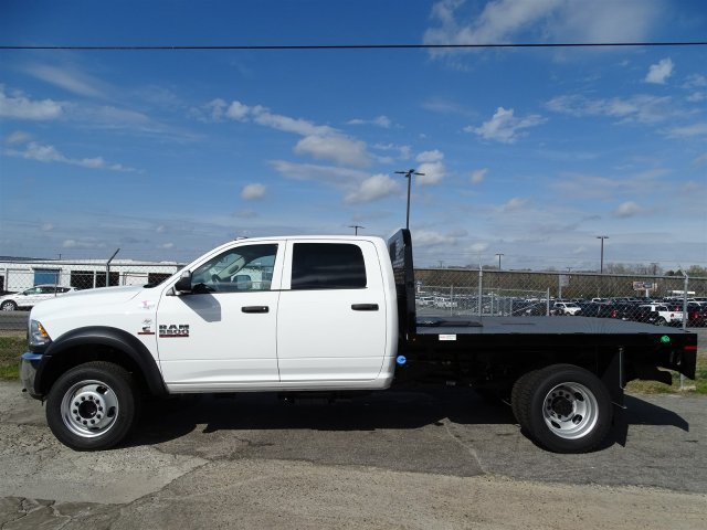 2017 Ram 5500 Crew Cab DRW 4x4, Knapheide Platform Body #HG625470 - photo 4