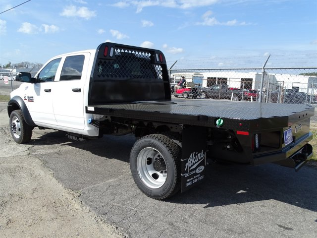 2017 Ram 5500 Crew Cab DRW 4x4, Knapheide Platform Body #HG625470 - photo 2