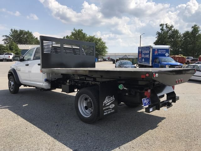 2018 Ram 5500 Crew Cab DRW 4x4,  Commercial Truck & Van Equipment Platform Body #JG110413 - photo 4