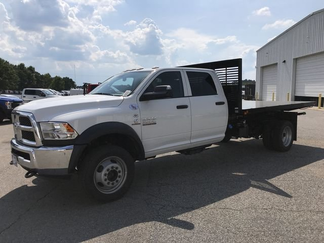 2018 Ram 5500 Crew Cab DRW 4x4,  Commercial Truck & Van Equipment Platform Body #JG110413 - photo 5