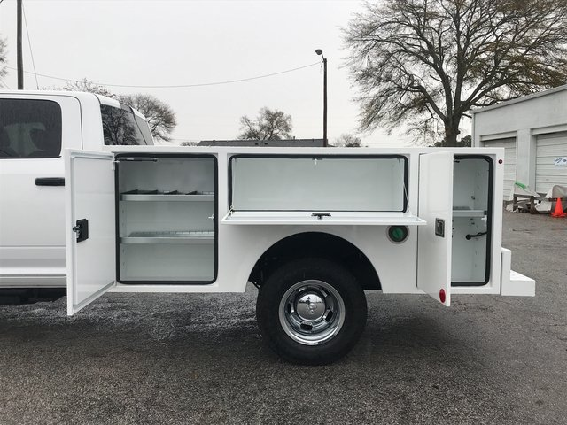 2018 Ram 3500 Crew Cab DRW 4x4, Warner Service Body #JG114342 - photo 10